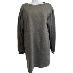 nicole miller grey new sweater small short casual